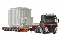 WSI Mammoet MAN TGX XXL + 6 Axle Lowloader and TRAFO Transformer Load